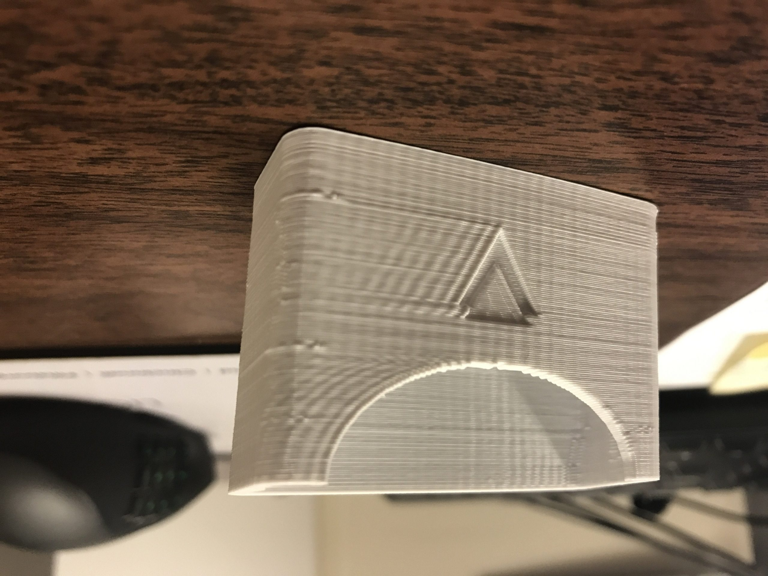 example of 3d print ghosting
