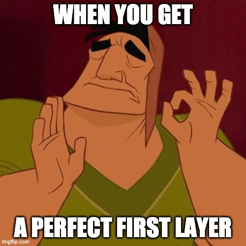 first layer just right meme